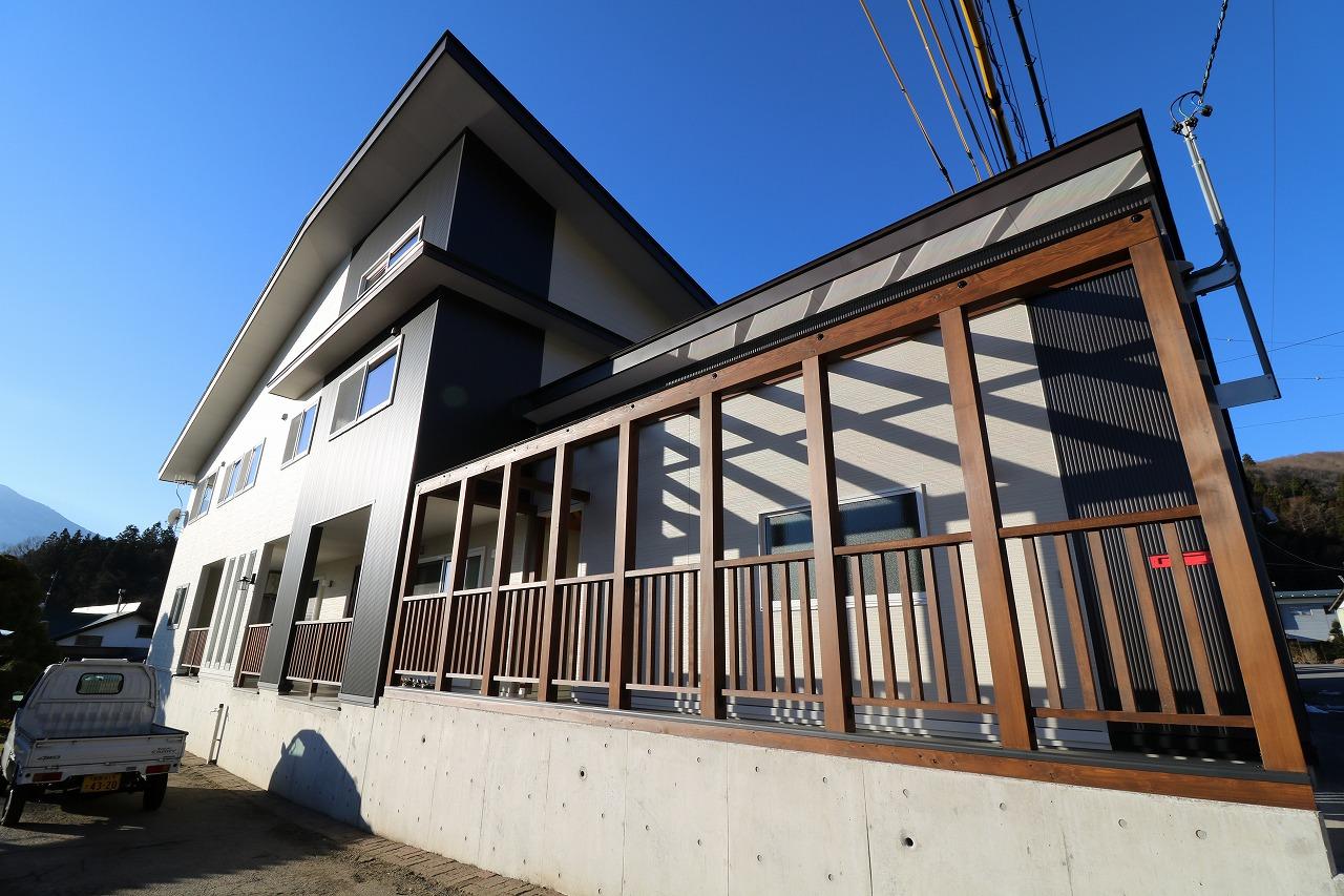 丸山工務店の家づくりの実績:親子の希望を叶えた二世帯住宅